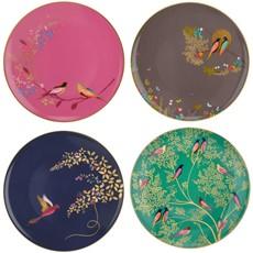 Sara Miller Chelsea Cake Plates Set 4