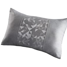 Lucien Boudoir Cushion - Silver