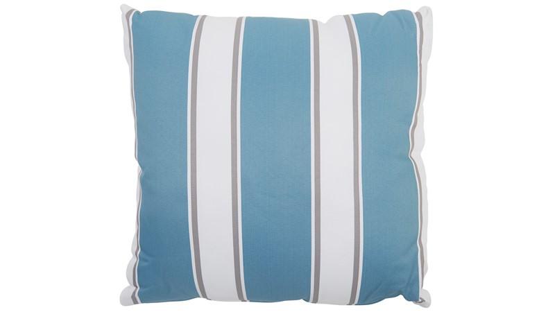 Curiosity Blue 50cm Square Cushion