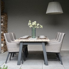 4 Seasons Luxor 6 Seat Garden Dining Set