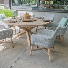 4 Seasons Lisboa 6 Seat Garden Dining Set