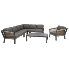 4 Seasons Oslo Corner Sofa Garden Set