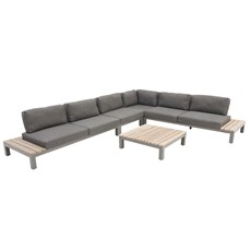 4 Seasons Fidji Corner Sofa Garden Set