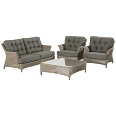 4 Seasons Valentine 2 Seater Sofa Garden Set
