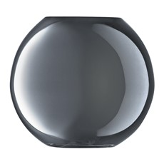 LSA Polka 11cm Vase - Platinum