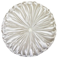 Kylie Minogue Riva Round Cushion - Oyster