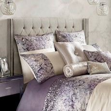 Kylie Minogue Marisa Square Pillowcase - Mauve