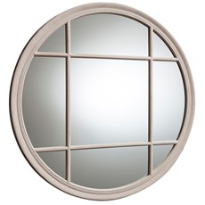 Eccleston Round Wall Mirror - Clay