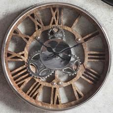 Fairbank Wall Clock - Polished Nickel