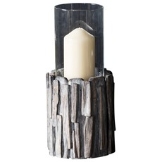 Invicta Driftwood Votive - Medium