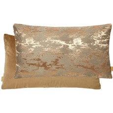 Kai Textured Rectangular Cushion - Rusted