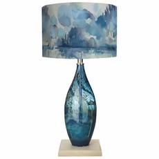 Voyage Thalassa Table Lamp, Eva Shade - Genji Landscape