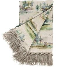 Voyage Caledonian Throw - Forest Topaz