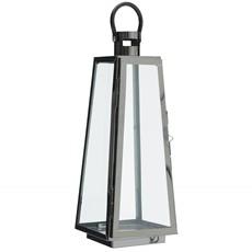 Square Base Nickel Lantern