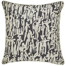 Harlequin People Cushion - Chartreuse