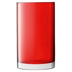 LSA Flower Colour Cylinder Lantern - Red