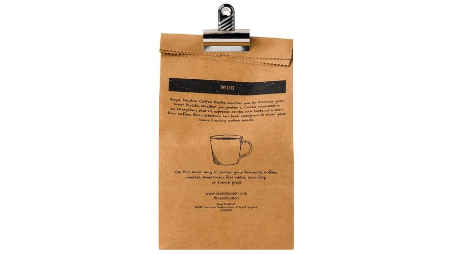 Royal Doulton Coffee Studio Small Mug - Grey