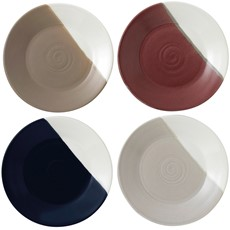 Royal Doulton Coffee Studio Set of 4 Plates