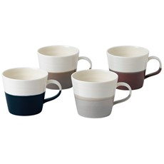 Royal Doulton Coffee Studio Set of 4 Small Mugs