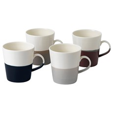 Royal Doulton Coffee Studio Set of 4 Grande Mugs