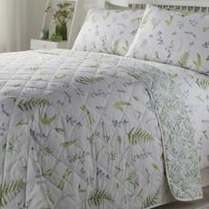 Appletree Meadowgrass Bedspread - Green
