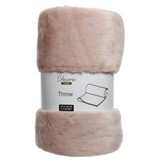 Furry Throw - Pink
