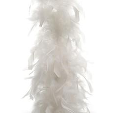 White Feather Boa Garland