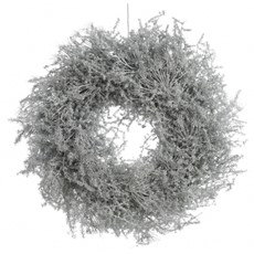 White Asparagus Waxed  Wreath