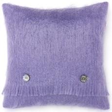 Mohair Cushion Cloud Violet