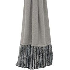 Mala Throw - Grey