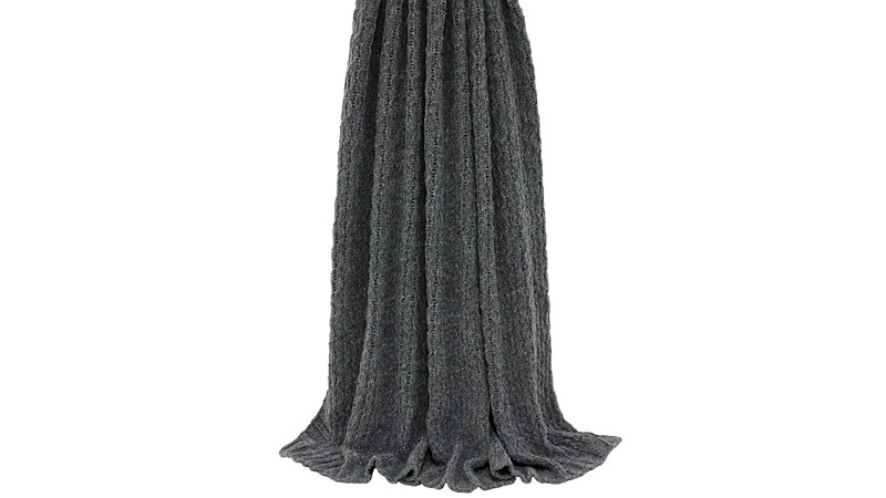 Lilya Throw - Grey