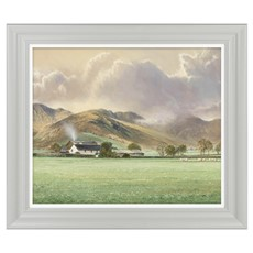 Hillside Cottage I Framed Print