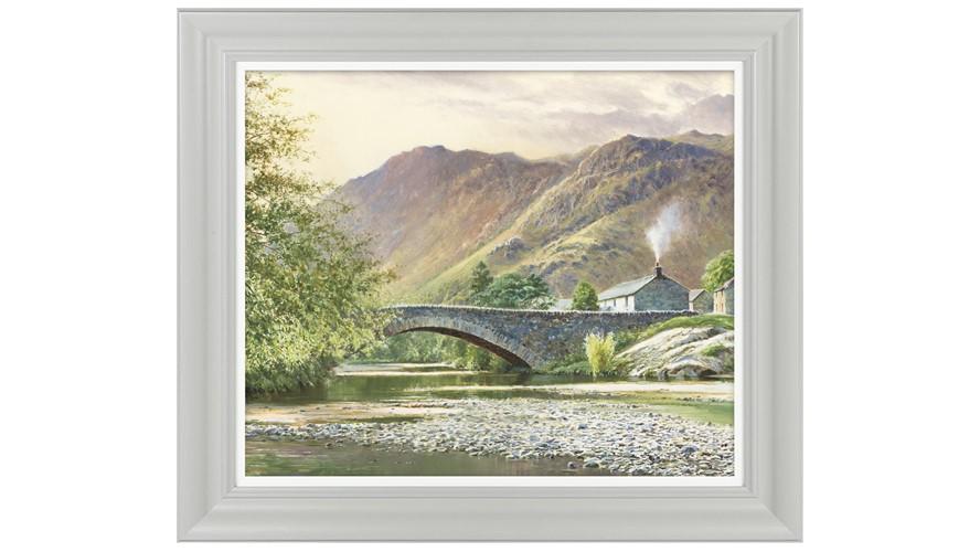 Hillside Cottage II Framed Print