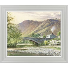 Hillside Cottage II Framed Print