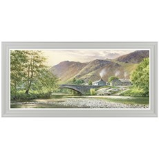 Lakeland Forest Greens Framed Print
