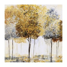 Autumnal Trees I Canvas