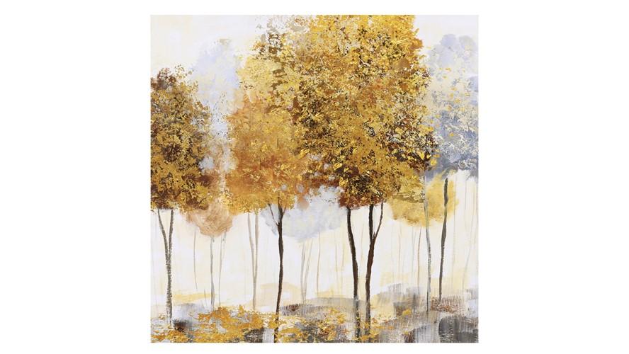 Autumnal Trees II Canvas