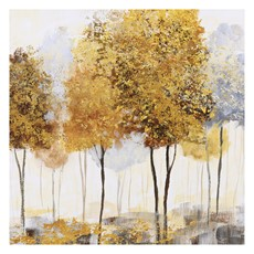 Autumnal Trees II Canvas