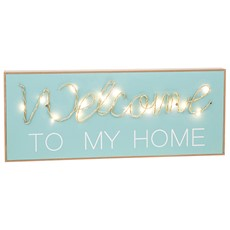 Welcome String Plaque