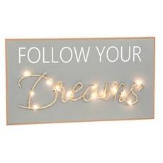 Dreams String Plaque