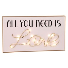 Love String Plaque