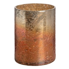 Medium Copper Ombre Candle Holder