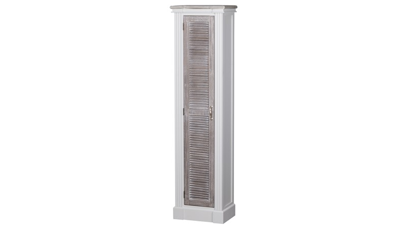The Liberty Collection - Tall Louvred Doors Cabinet