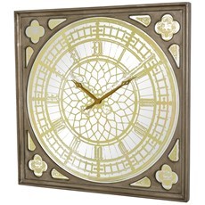 Big Ben Wall Clock - Antique Gold