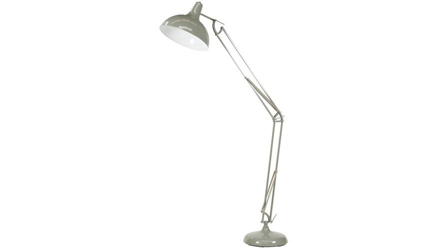 Task Oversize Floor Lamp - Grey