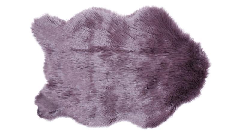 Snug Faux Fur Rug Amethyst