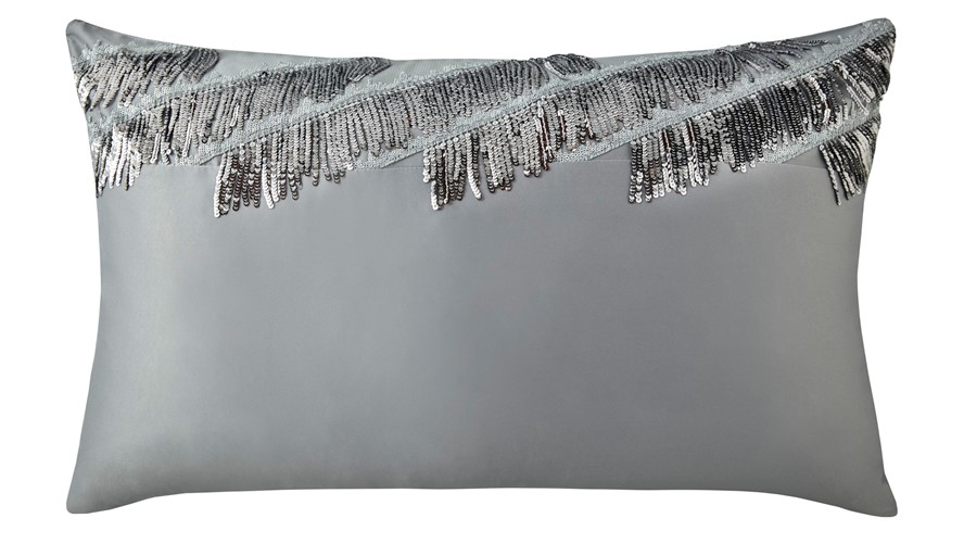 Kylie Minogue Eliza Housewife Pillow Case - Pewter