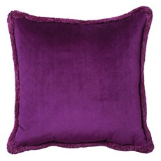 Milana Square Cushion - Purple