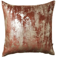 Moonstruck Square Cushion - Terracotta