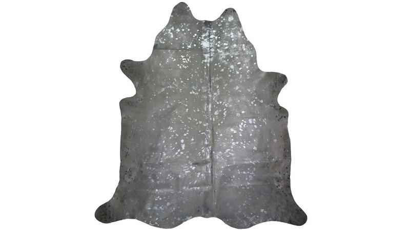 Cowhide Rug - Metallic